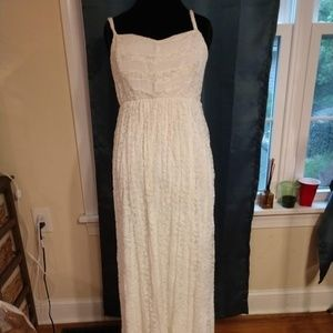 Beautiful White Torrid Maxi Dress Size 1X